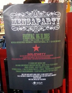 Mensaparty am 06.11.2015